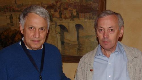 Andrei Linde und Alexander Vilenkin in W�rzburg - Foto: Max Rauner