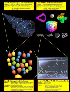 The Multiverse according to Max Tegmark